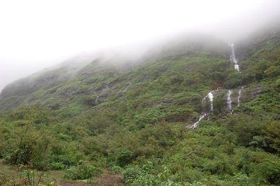Mist filled Mountain