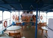 Upper deck of vessel-adda place cum dining space by damnit2012.  Tags: West Bengal, Sunderbans, Sunderbans, Sunderbans, Sunderbans.