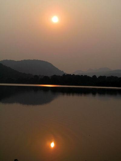 Sunset @ Morguma dam