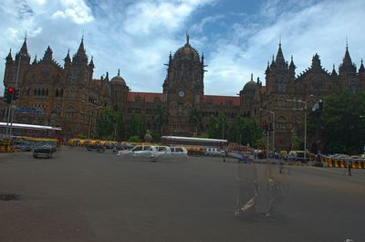 The iconic Victoria terminus now CST