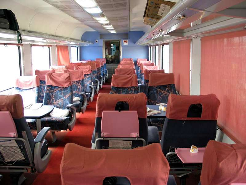 Executive Class in Shatabdi