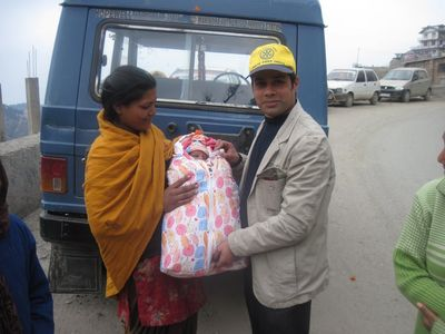 Pulse Polio, 2012 at Himachal Pradesh