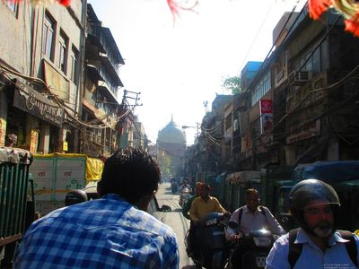 In the Streets of Old Delhi
