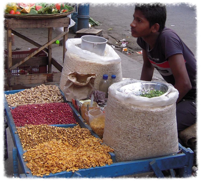 Jhaal Muri and Street Food in Kolkata