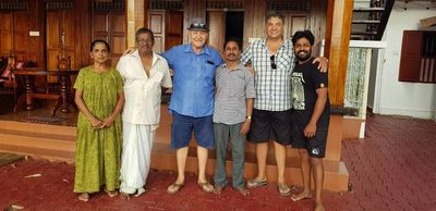 My Family in Allepey - Kerala
