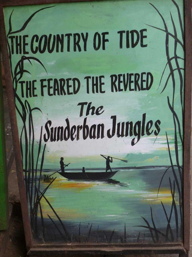 Sundarbans sign