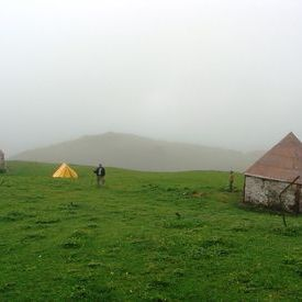 Roopkund Trek - To  the tent at Bedni