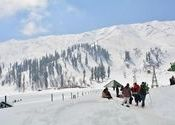Kashmir in March by sampa guha.  Tags: Jammu and Kashmir, Gulmarg, Kashmir, march.