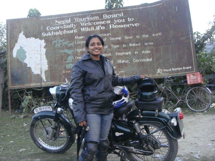 My First cross border ride- Nepal