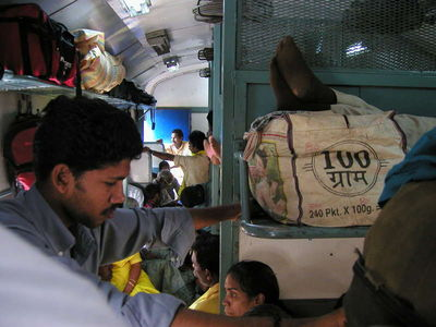Indian Train Unreserved general compartment (II)