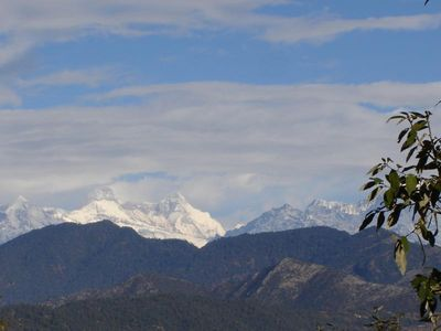 nandadevi & nandadevi east from choukori