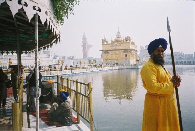 Golden Temple, Amritsar. View