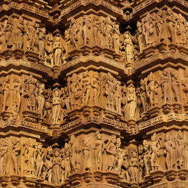 Sculpture Detail - Khajuraho