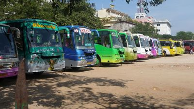 Mysore Zoo Bus Lot