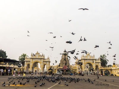 East Gate of Mysore Palace 2