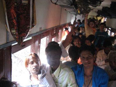 Inside the Kangra Valley toy train