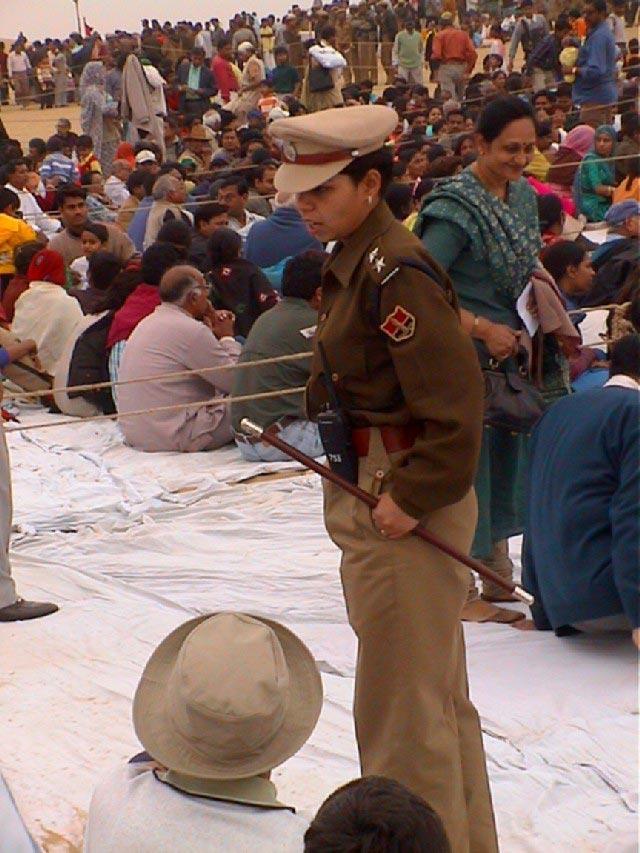 Jaisalmer police officer