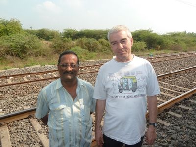 Two IM - Indian Railway stalwarts - VSP and Steven