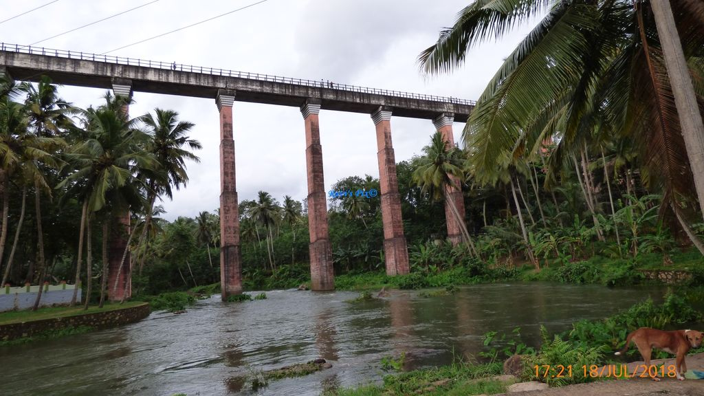 Mathur Aqueduct - view from ground