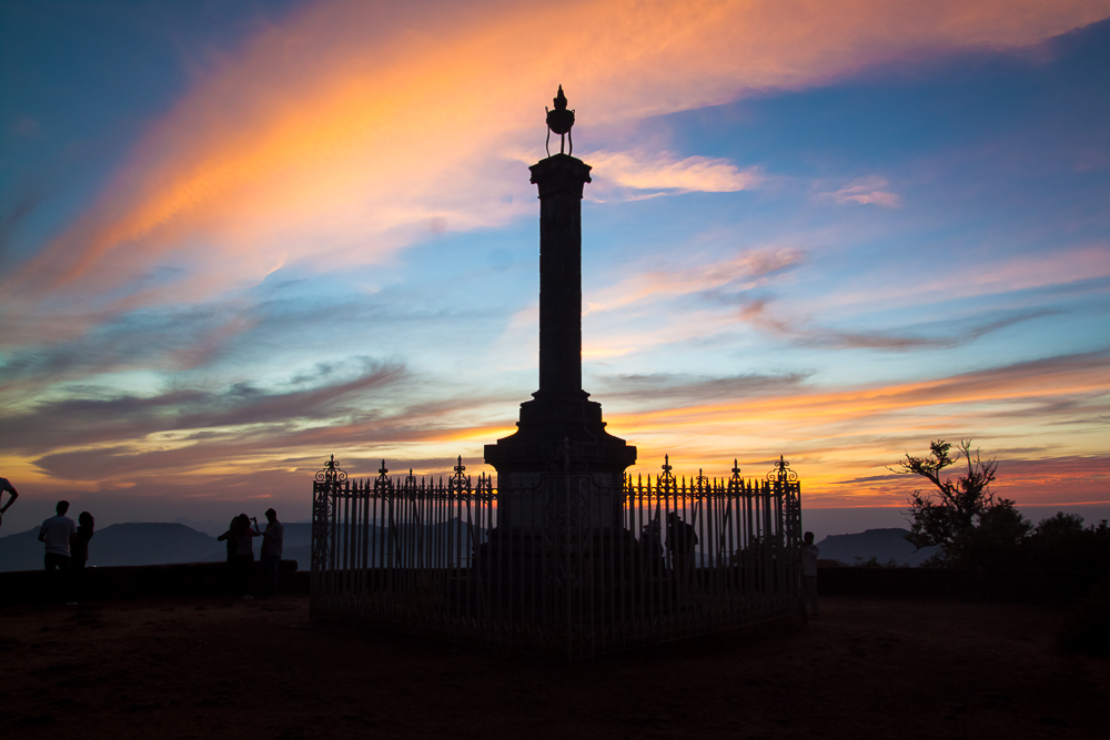 Sunset in Mahabaleswar