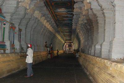 Pillared Corridor @ the Ramanathaswami Temple