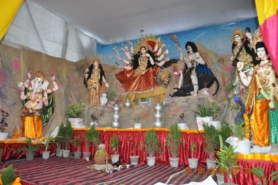 Durgapuja out of Bengal