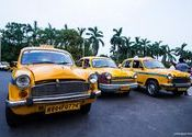 The Iconic Yellow Taxis of Calcutta!  by naveenamohanrao.  Tags: West Bengal, Kolkata, Kolkata, Taxis.