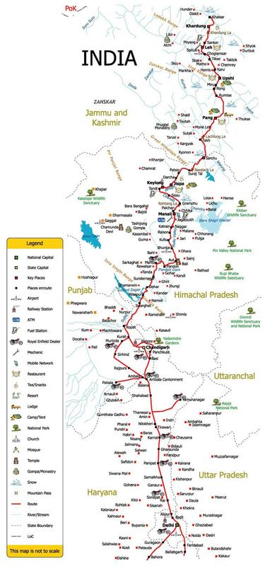 Manali India Map.Road Map To Manali From Chandigarh India Travel Forum Indiamike Com
