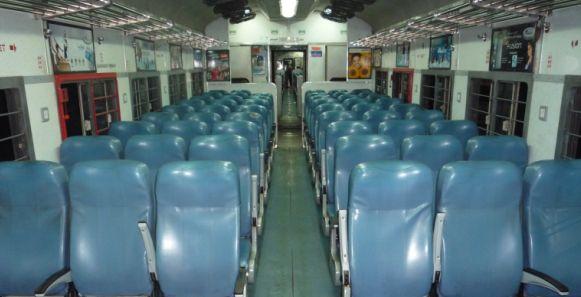 Second Sitting On Shatabdi Intercity Express India