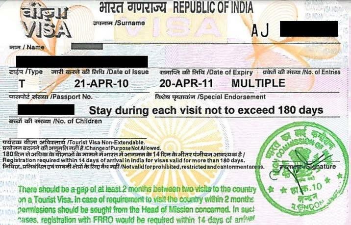 India Travel Forum For Citizens Of Other Countries Visa And Pio Oci Questions Applying For