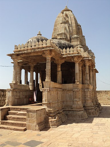 Name:  One of the Temples in Chittorgarh.jpg
