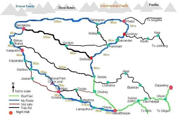 Suggestions For Sandakphu Phalut Trek India Travel Forum Indiamike Com