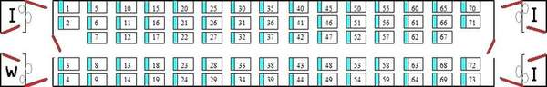 seating arrangement in sitting cars ac and non ac india travel