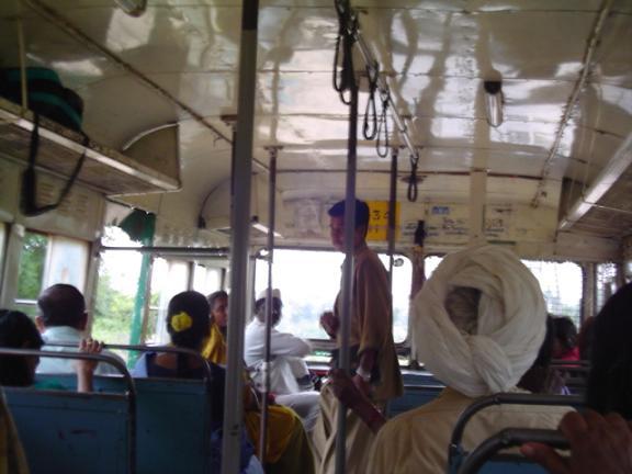 Inside the Hampi bus.JPG