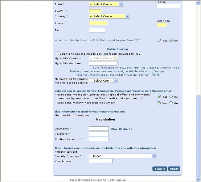 Citibank Card Payment >> Nuts & Bolts of online registration for railway ticket booking. - India Travel Forum | IndiaMike.com