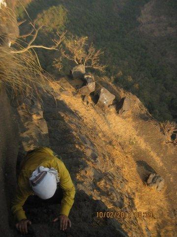 Making way to the Gorakhnath Temple on Gorakhgad.jpg