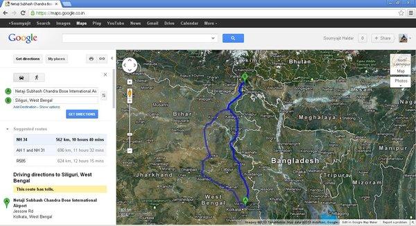 Google Map - Road option.jpg
