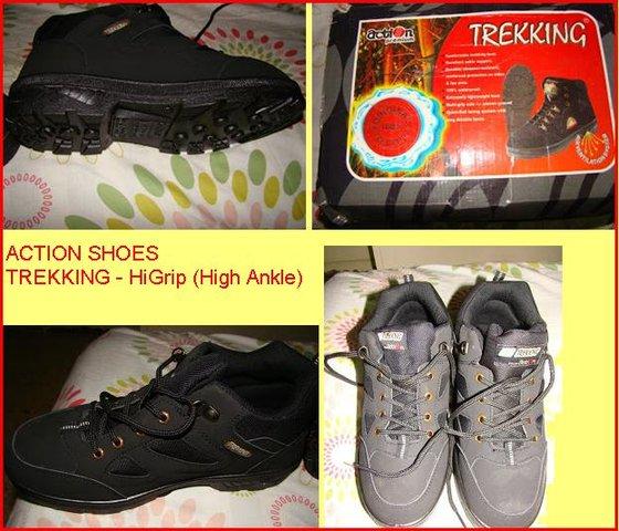 Trekking shoes alpine trekking shoes