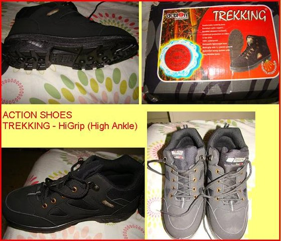 Action High Ankle Trekking Shoes Online