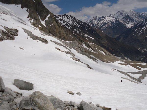 Lamkhaga climb