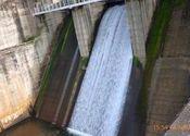 Karapuzha Dam - shutter open by Ravichandar.  Tags: Kerala, Wayanad, karapuzha, dam.