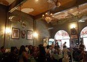 Inside the Britannia & Company Restaurant by Mega City.  Tags: Mumbai, Mumbai, Maharashtra, ballard estate, company.