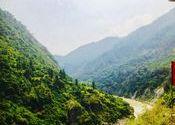 A spot enroute Badrinath. by Pammi.  Tags: Badrinath, Uttarakhand, Uttarakhand, near joshimath.