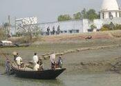 Local boat taxi transportation around the Sunderbans by sab kuch milega.  Tags: Sunderbans, Sunderbans, Sunderbans, Sunderbans, Taxis, Taxis, Transportation, boat.