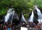 Five falls - Courtallam by Ravichandar.  Tags: courtallam, kutralam, tamilnadu.