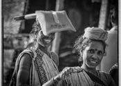 Puri Construction  Ladies by Lou Wilson.  Tags: Odisha, Odisha, Puri.