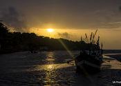 My best sunset 2015 by vaibhav_arora.  Tags: konkan coast, konkan coast, Sunsets, Sunsets, 2015.