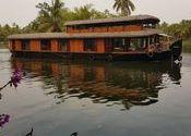 Big Houseboat by vandy.  Tags: allepey kerala, houseboat.