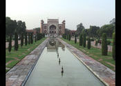 Taj Main Gate by aarosh.  Tags: Uttar Pradesh, Agra, Taj Mahal, Temples and Monuments.