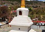 Chorten - Buddhist temple  by vaibhav_arora.  Tags: kalpa, temple, buddhist.